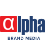 Alpha Brand Media Logo