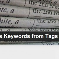 Free WordPress Plugin Auto-generates Google News Meta Tag Keywords