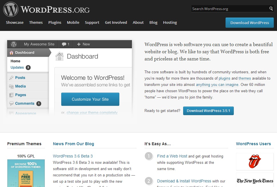 WordPress Website | Official Website