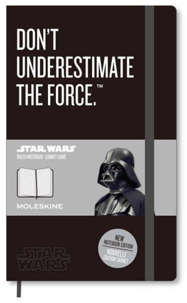 Star Wars x Moleskine 2013 Notebook Collection | Moleskine Japan