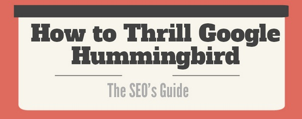 'How to Thrill Google Hummingbird' Infographic | Search Engine Journal