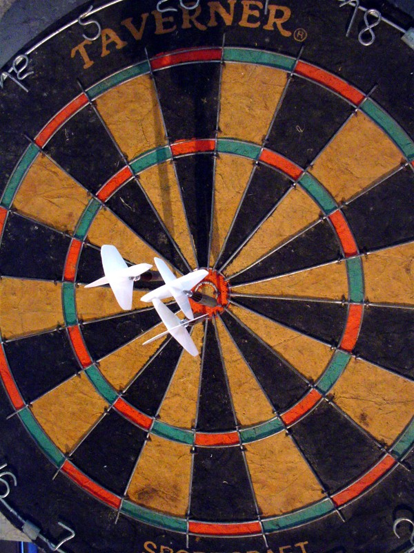 """Dart Board"" by Paul Anderson 