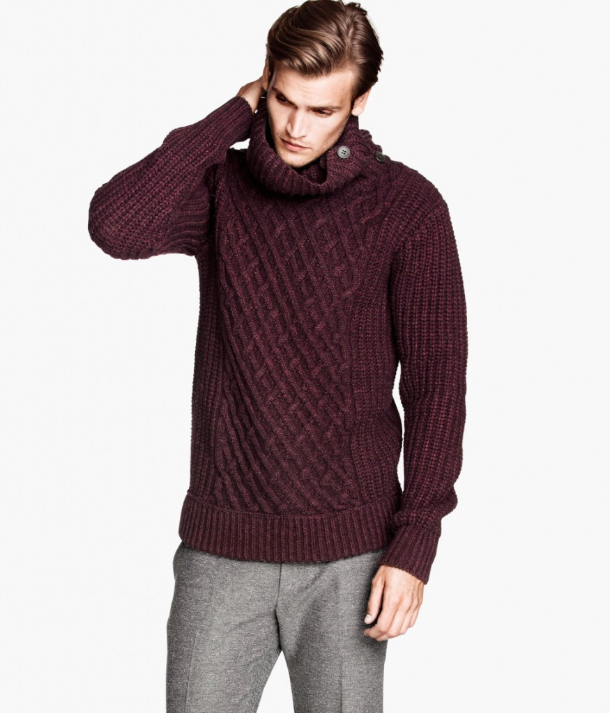 Knit Turtleneck Sweater by H&M | Official Website