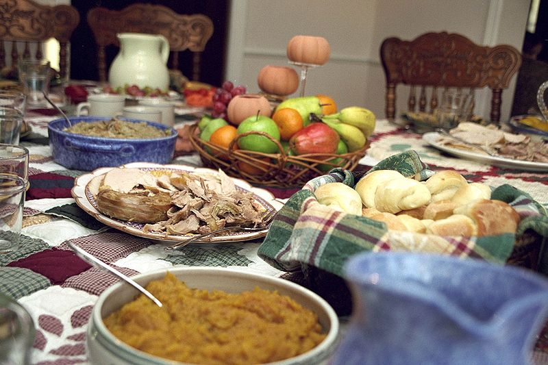 Traditional Thanksgiving Dinner   Wikipedia