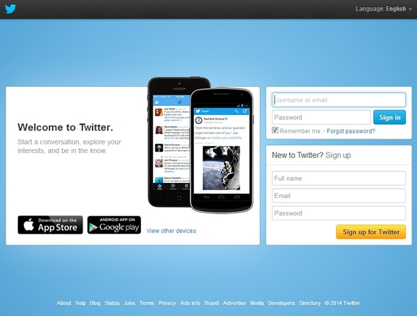 Twitter Sign In Page | Official Website