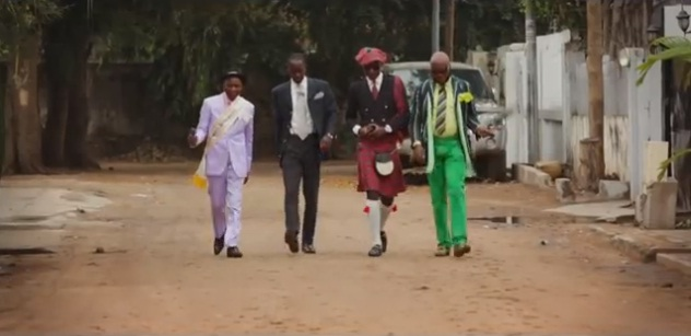 Screenshot Taken 2014 January 27 | Sapeurs: A Guinness Documentary