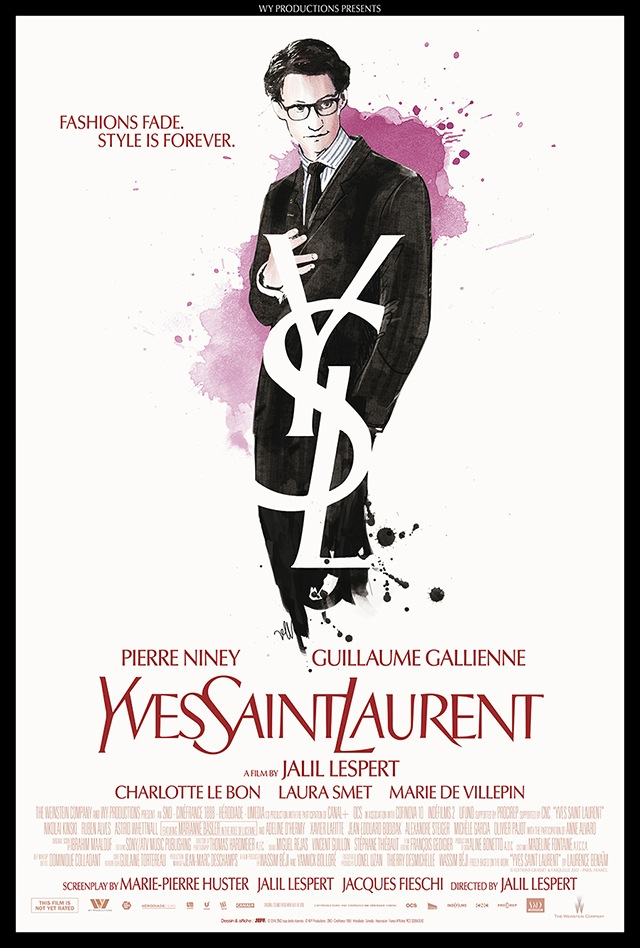 The Yves Saint Laurent Movie Poster is Out